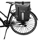 hapo G Rückentasche, wasserfest, 14 l, Convertible Rucksack, Befestigung geeignet für Ebike...