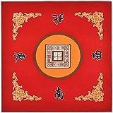 Tischdecke fr Universal Mahjong/Paigow/Poker/Dominos/Spieltisch Cover, rutschfeste Matte 31,5' x...