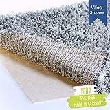 LILENO HOME Anti Rutsch Teppichunterlage aus Vlies (80x340 cm) - Fußbodenheizung geeignete Teppich...