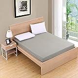 NHhuai Unterbett Soft-Matratzen-Topper, Matratzenschutz Boxspring-Betten geeignet Tagesdecke...