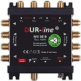 DUR-line MS 5/8 B eco Stromloser Multischalter für 8 Teilnehmer [ Test SEHR GUT *] - Geringe...