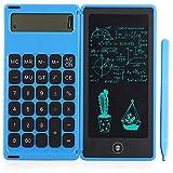Monland Rechner Notepad 6-Zoll-LCD-Schreibtablett Digitales Zeichenpad mit Stylus Pen Erase Button...