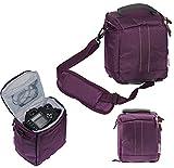 Navitech Lila Digital SLR Kamera Schutz Tasche Etui Cover für (Nikon coolpix P510/ P100/ P500/ P90/...