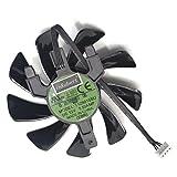85 mm T129125SU Grafikkartenlüfter für Sapphire Radeon RX570 Pulse ITX Cooling Fan
