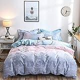 GAOXUE Kingsize-Bettbezge,Kingsize-Bettwsche-Set, Bettbezug mit Doppelbett, Bettwsche und...