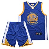 Yueyue NBA Warriors Curry 30. Jersey-Stickerei-Anzug, Basketballspieler-Trikot, Atmungsaktive Und...