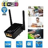 DZSF Wireless Wi-Fi-Router Fr Haus- Und Extender WiFi-Signal-Verstrker Wireless Router Receiver WLAN...