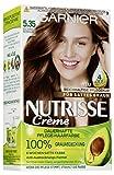 Garnier Nutrisse Creme Coloration Goldenes Rehbraun 5.35 / Färbung für Haare für permanente...
