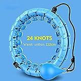 Hula-Hoop-Hula-Hoop-Reifen, verstellbar, mit automatisch drehendem Ball, für Erwachsene und Kinder,...