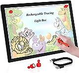 A4 Led Licht Pad Leuchttisch, einstellbare Helligkeit Tracing Lichtpad,für Zeichnung, Animation,...