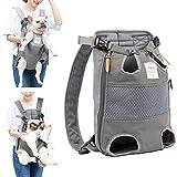 Lampop Haustier-Rucksack für Hunde Verstellbar Sichere Katzen-Vorderseite Doppelte Schultertasche...