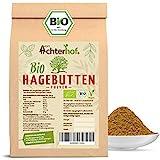 Bio Hagebuttenpulver (1kg) | ganze Hagebutte gemahlen | 100% ECHTES Bio Hagebutten Pulver in...