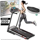 Sportstech F10 Laufband Modell 2020 - Deutsche Qualittsmarke + Video Events & Multiplayer APP  NEUE...