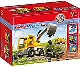 Fischertechnik 554194 Baustellenfahrzeuge Easy Starter Trucks ab 3 Jahren Baggerfunktion &...
