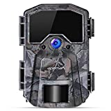 APEMAN Wildkamera 20MP 1080P Infrarot-Nachtsicht Jagdkamera mit 940nm LEDs, Zeitraffer,...