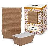 Kuchen papier-kastenform für Einweg-Backformen für Kuchen, Brot und Muffins in Papier-Braunformen...
