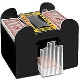 Asolym Elektrische Kartenmischmaschine, Automatischer Kartenmischer für 6 Decks, Poker Card...