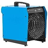 ALLEGRA H51 Heizlüfter 5 KW Elektroheizer Heizgerät Bauheizer mit Thermostat und ca. 1,5m...