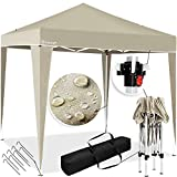 KESSER® Pavillon 3x3m   wasserdicht   inkl. Tasche   Pop-Up Klicksystem   UV-Schutz 50+  ...