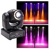 Moving Head LED,U`King 50W LED Bühnenlicht mit DMX 10/12CH und Fernbedienung,Partylicht Disco...