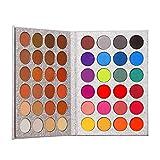 Lidschatten Palette Makeup Matte Shimmer 48 Farben Highly Pigmented Professionelle Akte Warme...