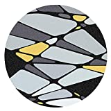 WCZ Wohnzimmer Bodenmatte Dekoration, Teppiche Teppich Stilvolle runde Teppich, Schlafzimmer Nacht...