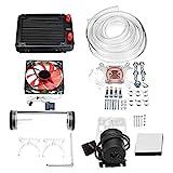 YLiansong-office Computer Case Fan 120mm DIY PC Wasserflssigkeitskhlung Lfter-Kit Heat Sink Set...