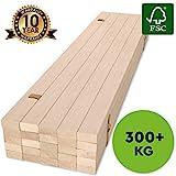 Hansales Rollrost 120x200cm - 300 kg 25 Leisten - Hochwertiger Extra starker Rollattenrost aus...