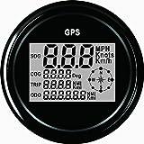 ELING Garantierter digitaler GPS-Geschwindigkeitsmesser-Kilometerzähler für Auto-Motorrad-Boot...