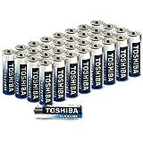 Toshiba AA Alkaline-Batterien (LR06), hohe Leistung, extra Lange Betriebsdauer, hochwertige...