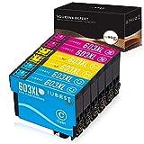 IUBEST Aktualisiert 603XL Patronen Ersatz für Epson 603 Tintenpatronen Multipack Kompatibel mit...