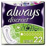 Always Discreet Inkontinenz-Einlagen Light 22 Bei Blasenschwäche