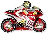 Moto Racing Motorrad Balloon 26 'Folie Ballon - rot [Spielzeug]