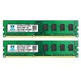 motoeagle 8GB Kit (2x4GB) DDR3-1333 PC3 10600 10600U 4GB UDIMM Unbuffered Non-ECC 1.5V CL9 2Rx8...