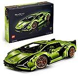 LEGO 42115 Technic Lamborghini Sián FKP 37 Rennwagen, erweitertes Bauset für Erwachsene,...