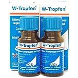W-Tropfen Doppelpack 20 ml (2 x 10 ml), Lösung gegen Hühneraugen und Hornhaut
