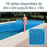 Linxor ® Pool Solarfolie Solarabdeckplane Poolheizung 300 μm Zugeschnittene / 70 verfügbare...