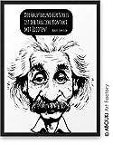 Der Hauptgrund fr Stress ist der tgliche Kontakt mit Idioten ABOUKI Kunstdruck - ungerahmt -...