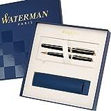 WATERMAN Schreibset HEMISPHERE Essential Schwarz G.C. mit persönlicher Laser-Gravur...