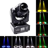 Moving Head Bühnenlicht,UKing 40W LED Disco Lichteffekte mit 4 Steuerungsmodi,8 Farben,8 Muster...