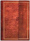 Tagebuch'Edle Schriften' Notizbuch Din A4 liniert/gepunktet Hardcover Magnetverschluss & Prägung...