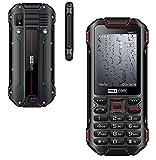 ²-DUAL SIM 3G/UMTS/HSDPA/TETHERING/PANZERGLASFOLIE -Outdoor- Handy-Rugged-/Taschenlampe/von...