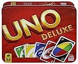 Mattel Games K0888 UNO Deluxe Kartenspiel, geeignet für 2 - 10 Spieler, Spieldauer ca. 15 Minuten,...