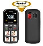 simvalley MOBILE Seniorenhandy: Senioren-Handy, Garantruf Premium, GPS-Ortung, 4...
