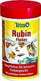 TetraRubin Hauptfutter (für Zierfische, für intensive Farbenpracht mit natürlichen...