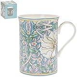 William Morris Pimpernel Tasse aus feinem Porzellan, mit Blumenmuster, in Geschenkverpackung