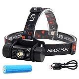 Stirnlampe IR Sensor LED super hell 5W Mini Scheinwerfer LED Induktions Taschenlampe Outdoor...