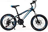 YAYY Erwachsenes Fahrrad 20 Zoll Kinder Mountainbike Weiblich Cross Country Boy Wanderrad-B_24 Zoll...