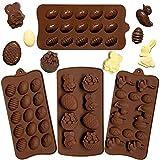 Mauts Ostereier-Schokoladenformen, verwendet zur Herstellung von Osterhasen,...