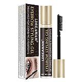 Augenbrauen Make-up Gel,Eyebrow Gel,Augenbrauen Styling gel,Augenbrauen Gel Wasserfest,transparentes...